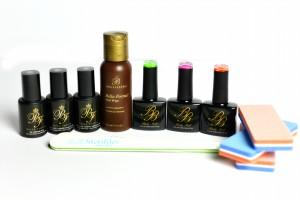 Short nail overlay - Bright kit
