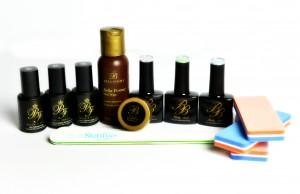Long or short nail overlay - Pastel kit